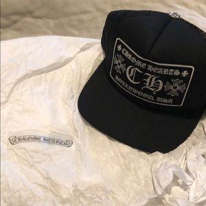 CHROME HEARTS trucker cap